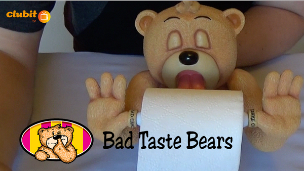 Bad Taste Bears Andre X Toilet Roll Holder Video Review