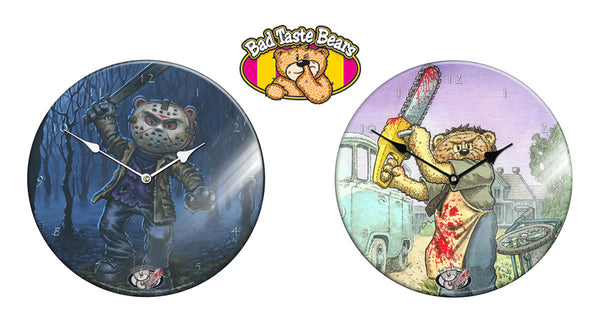 Bad Taste Bears Glass Wall Clock Video Reviews