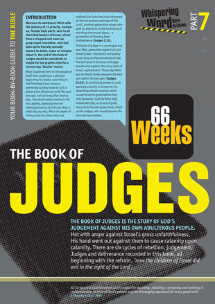 Bible Book Overview | Judges | 07 of 66 |