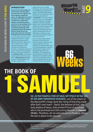 Bible Book Overview | 1 Samuel | 09 of 66 |