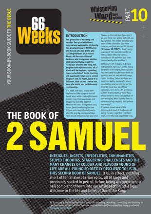 Bible Book Overview | 2 Samuel | 10 of 66 |