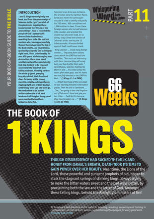 Bible Book Overview | 1 Kings | 11 of 66 |