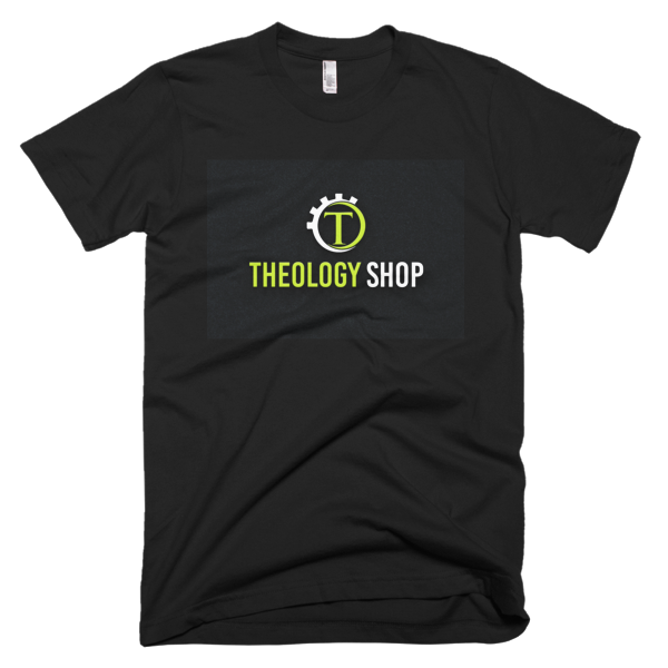 Theology Shop-Short sleeve men's t-shirt