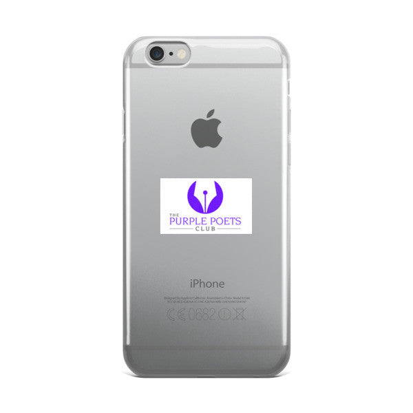 iPhone case -Purple Poets Club