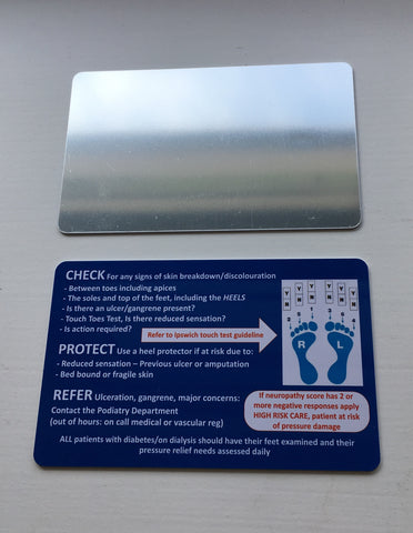 CPR Shatterproof Mirror Card© (MC02) ex VAT