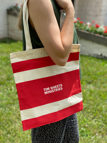 TSM Striped Tote
