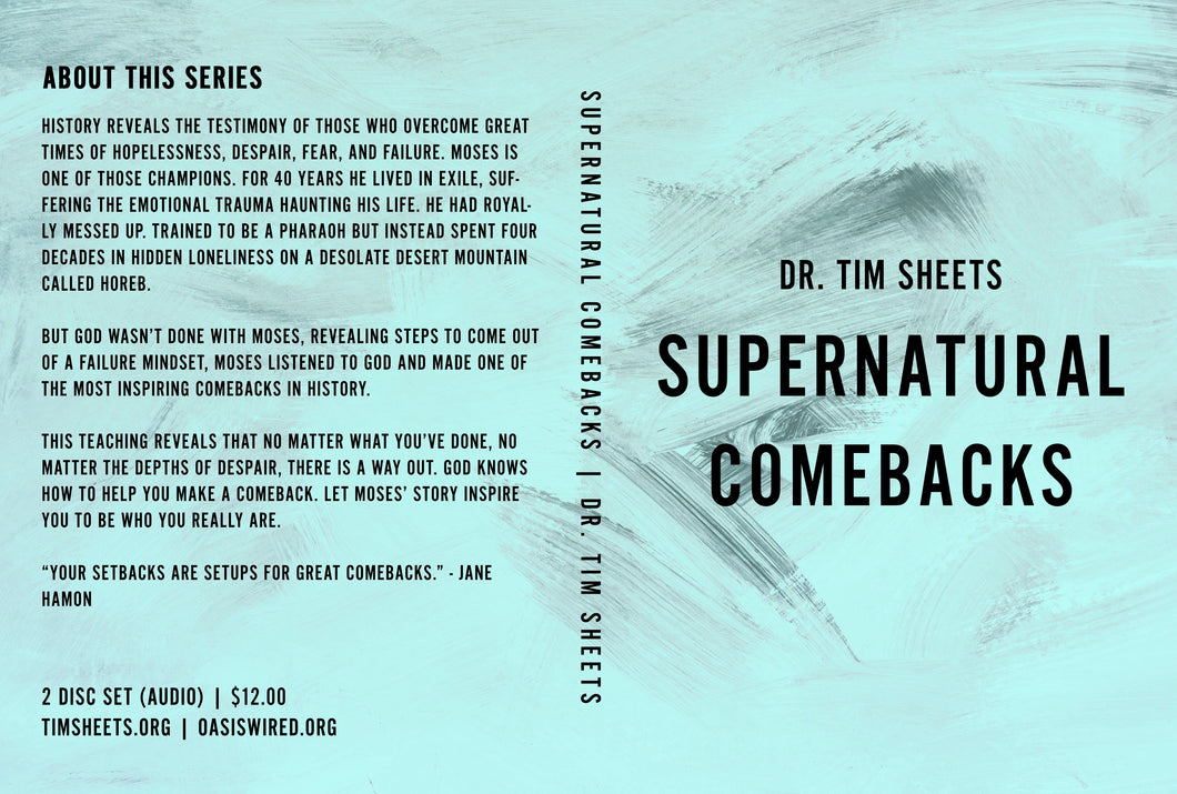 Supernatural Comebacks [CD Set]