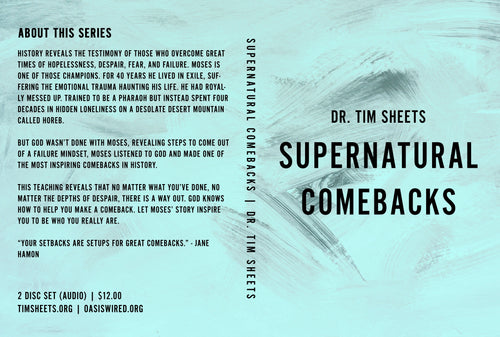 Supernatural Comebacks [MP3 Digital Download]