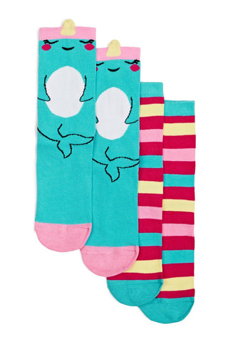 Magic Narwhal Socks Set