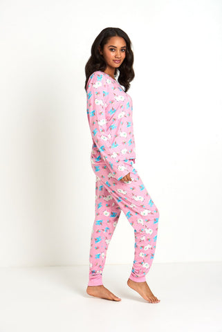Unicorn Long Sleeve Pyjama Set