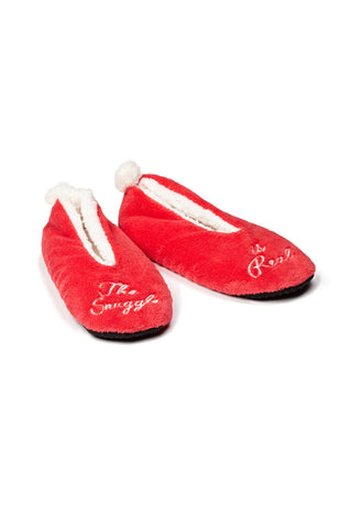 Snuggle Is Real Ladies Slippers