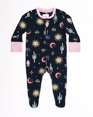 Sun and Cactus Babygrow