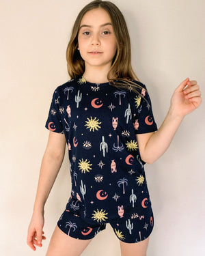 Kids Sun and Cactus Pyjamas