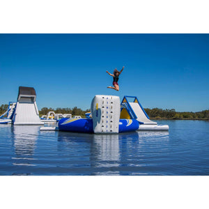 Aquaglide Escalade Trampoline Climbing Wall 3mtr - 585215105 - Water Toys