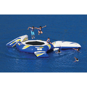 Aquaglide Supertramp 23 - With Slide & Log - 585215024 - Water Trampolines