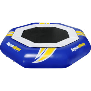 Aquaglide Water Trampoline Supertramp 14 - With Slide & Log - 585215022 - Water Trampolines
