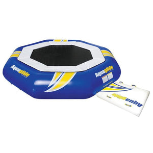 Aquaglide Water Trampoline Supertramp 14 With Swimstep - 585209106 - Water Trampolines
