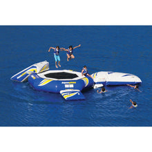 Aquaglide Water Trampoline Supertramp 17 - With Blast & I-Log - 585215023 - Water Trampolines