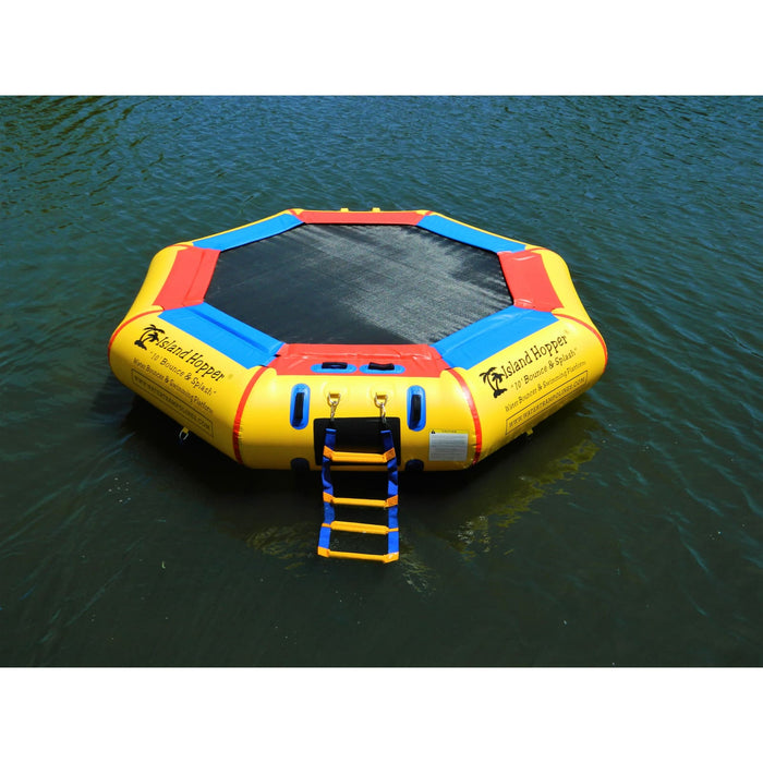 Island Hopper 10 Springless Water Bounce & Splash - Recreational Grade - 10BNS - Water Trampolines
