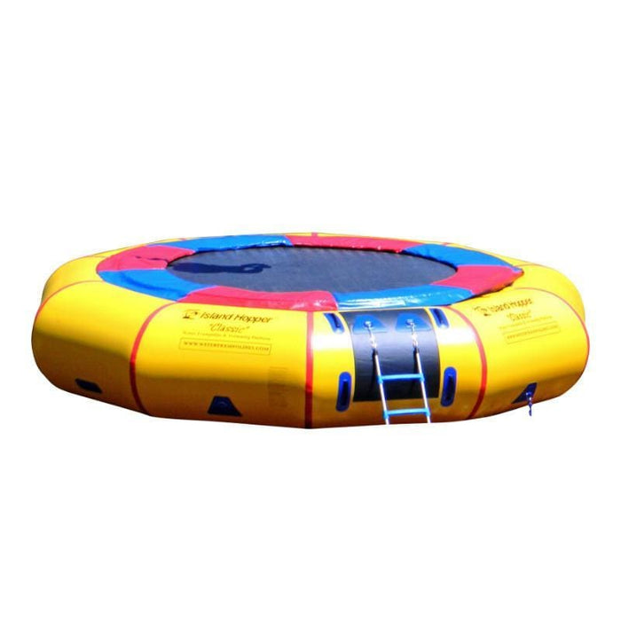 Island Hopper 15 Classic Water Trampoline - 15PVCTUBE - Water Trampolines