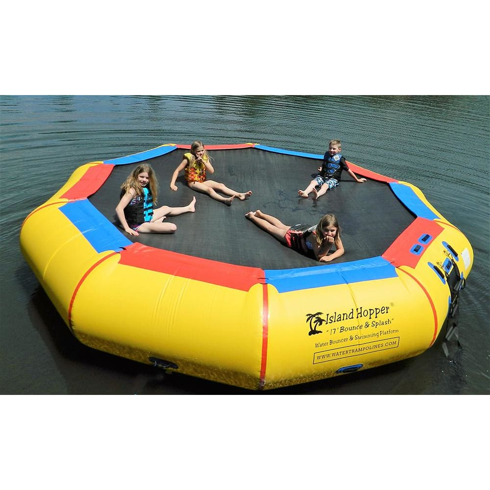 Island Hopper 17 Springless Water Bouncer Bounce & Splash - Recreational Grade - 17BNS - Water Bouncers