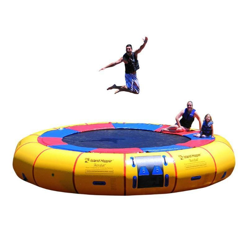 Island Hopper 20 Acrobat Water Trampoline - 20PVCTUBE - Water Trampolines