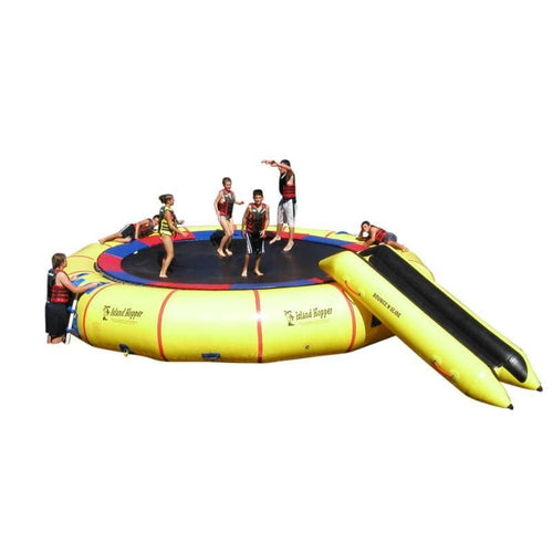 Island Hopper 25 Giant Jump Water Trampoline - 25PVCTUBE - Water Trampolines