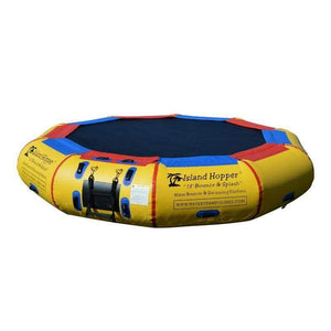 Island Hopper Bounce N Slide Water Attachment for Water Trampoline & Bouncer -- PVCSLIDE - Add 13 Bounce N Splash Padded Water Bouncer