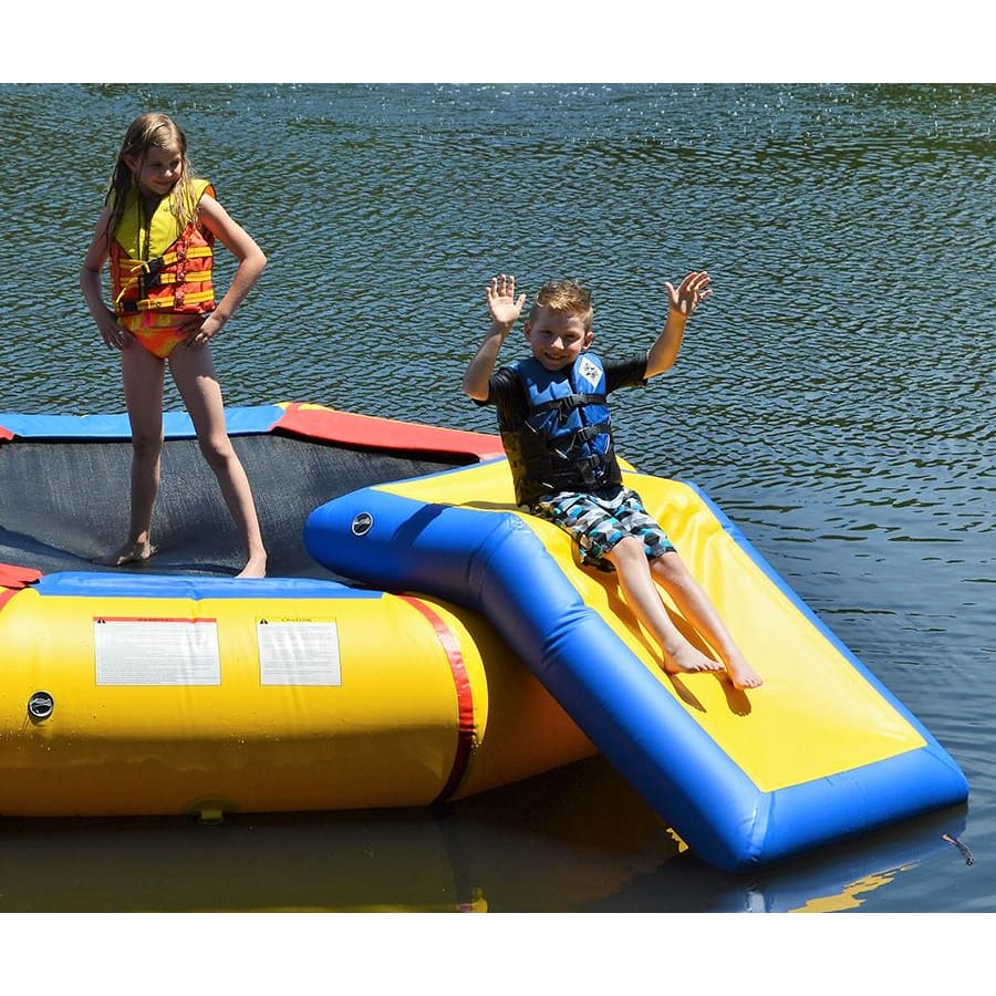Island Hopper ISLAND BOUNCER SLIDE Water Bouncer Slide Attachment - BOUNCERSLIDE - Water Toys
