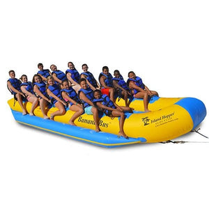 Island Hopper Commercial Banana Boat 14 Passenger Banana Bus Elite Class - Banana Boats