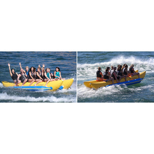 Island Hopper Elite Class Commercial Banana Boat 10 Passenger - PVC-10-SBS - Banana Boats