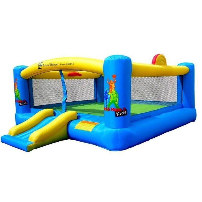 Island Hopper Hoops and Hops XL Bounce House - HNH 12157 - Bounce Houses