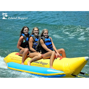 Island Hopper Recreational Banana Boat 3 Passenger - PVC-3 - Banana Boats