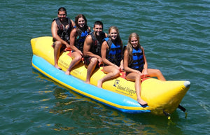 Island Hopper Recreational Banana Boat 5 Passenger - PVC-5 - Banana Boats