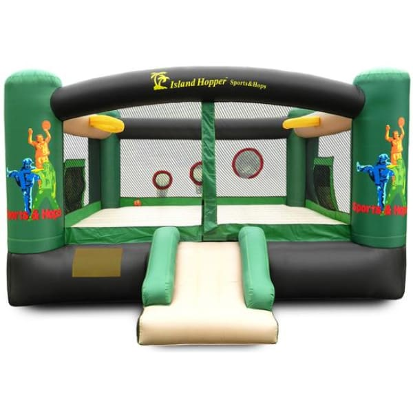 Island Hopper Sports and Hops Bounce House - SNH - Bounce Houses