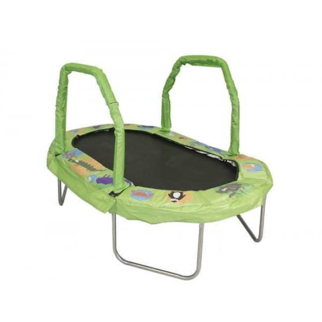 Jumpking 38 X 66 Mini Oval Trampoline With Green Pad - Jk3866Gn - Trampolines