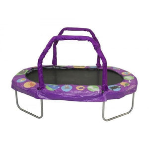 Jumpking 38 X 66 Mini Oval Trampoline With Purple Pad - Jk3866Pr - Trampolines