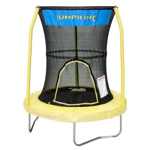 Jumpking 55 Kids Trampoline incl. Enclosure Yellow - BZJP55Y - Mini Trampolines