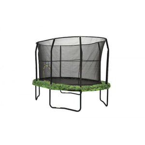 Jumpking 8 X 12 Ft Oval Kids Trampoline With Fern Graphic Pad - Jk812Fn - Trampolines