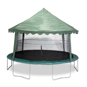 Jumpking Universal 14 Canopy Trampoline Cover (Solid Green) - ACC-USGC14 - Trampoline Accessories
