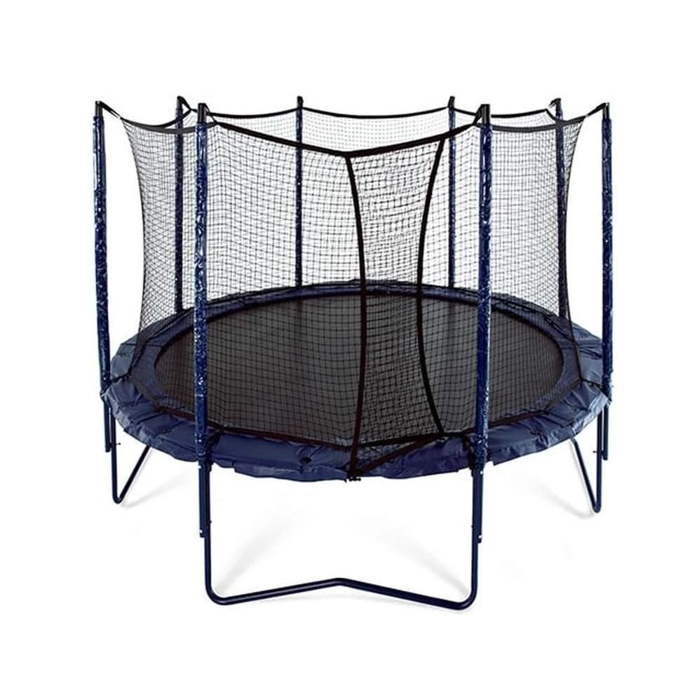 JumpSport Elite 12 Round Trampoline with Enclosure - UNE-U-11732-02 - Round Trampolines