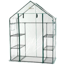 Ogrow Deluxe Walk-In 3 Tier 6 Shelf Portable Greenhouse - Og6834-S - Greenhouses & Accessories