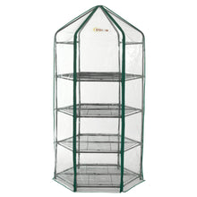 Ogrow Ultra-Deluxe 4 Tier Hexagonal Flower Planthouse Greenhouse - Oghx20-4T - Greenhouses & Accessories