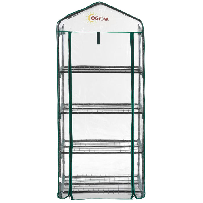 Ogrow Ultra-Deluxe 4 Tier Portable Bloomhouse Greenhouse - Og2719-4T - Greenhouses & Accessories