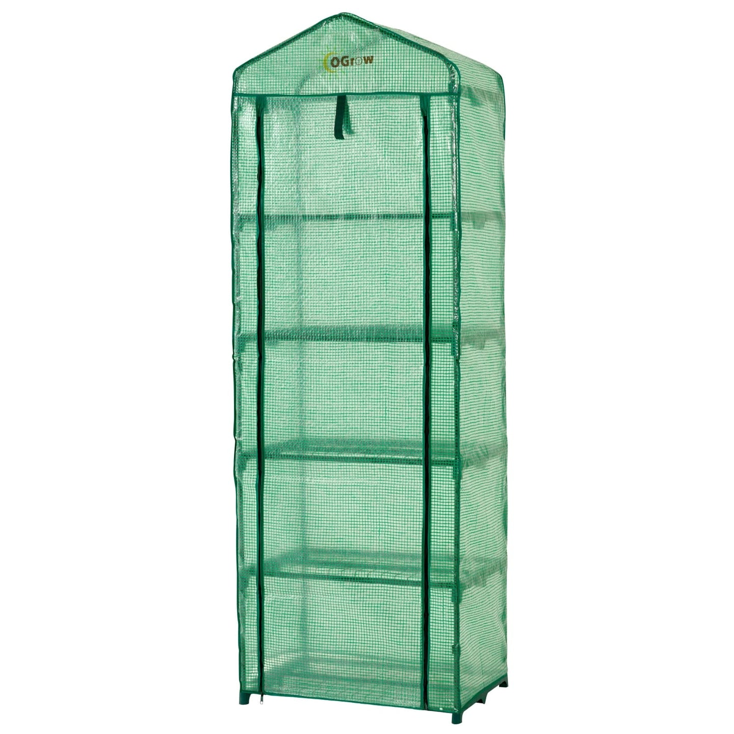 Ogrow Ultra-Deluxe 5 Tier Portable Gardenhouse Greenhouse - Og2719-5T - Greenhouses & Accessories