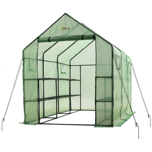 Ogrow Very Spacious - Sturdy Walk-In Portable Garden Greenhouse - Og11767-Pe - Greenhouses & Accessories
