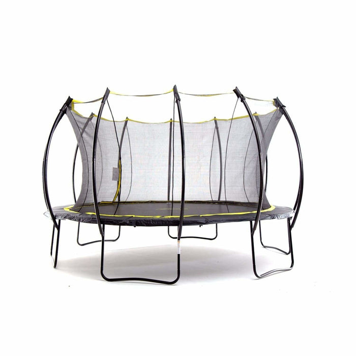 Round Trampoline SkyBound Stratos 12ft Top Ring Enclosure - SB-T12STR02 - SkyBound Stratos 12 ft Trampoline - Trampolines