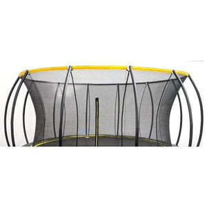 Round Trampoline SkyBound Stratos 14 ft Top Ring Enclosure - SB-T14STR02 - Round Trampolines