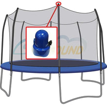 Skybound 1.5 Diameter Blue Trampoline Enclosure Pole Caps - Set Of 6 - Trampoline Replacements
