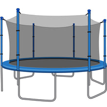 SkyBound 12 Foot Trampoline Net - Fits 12 Foot Frames with 6 Straight Enclosure Poles or 3 Arches - Trampoline Replacements